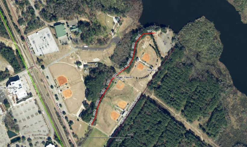 Coming Soon:  Hanahan Athletic Complex Walking Trail